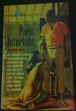 Paris Interlude by Aaron Bell - P/B Book, 1964 - Stag Books 1st Ed - Erotic pulp