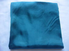 Brand New 100%  Silk  Scarf Wrap Bottle Blue
