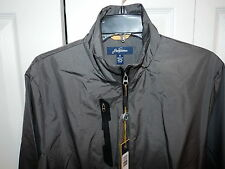 Jack Nicklaus Golf Windbreaker Jacket Zip Front Graphite Size Small New With Tag