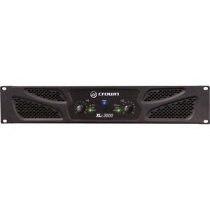 Like N E W Crown XLi 3500 Power Amp Auth Dealer WARRANTY Opened Box Never Used