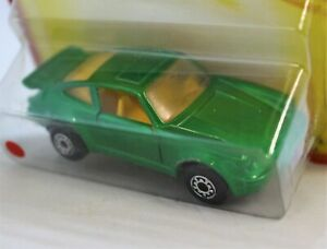 """Matchbox Lesney Superfast No3 PORSCHE 911 TURBO in """" GREEN with GREYSH BASE """"MOC"""