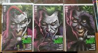 (2020) BATMAN THREE JOKERS #1-3 VARIANT COVER A SET! #1-3