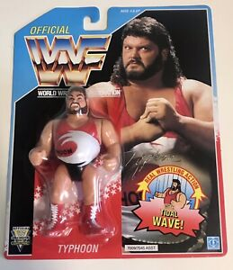 WWF Hasbro MOC Typhoon
