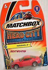MATCHBOX 2003 HERO CITY NISSAN Z #62 W+