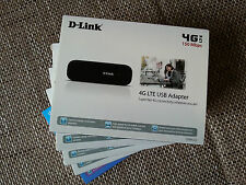 D-Link 4G LTE (150 Mbps) USB Mobile Broadband Modem Dongle Internet stick
