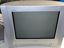 "VINTAGE SONY Wega Trinitron 2002 KV-13FS100 13"" Retro Gaming TV w/ Remote Tested"