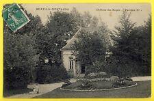 cpa Rare RILLY la MONTAGNE (Marne) CHÂTEAU des ROZAIS Pavillon N°1 Enfant Fusil