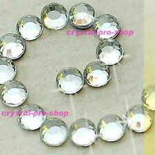 Crystal Clear Iron On Hotfix Rhinestones Glass Craft Beads Applicator Diamante