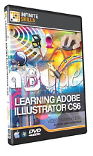 Learning Adobe Illustrator CS6 Training Video  9.75 hours - 115 tutorial videos