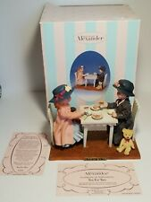 "Rare Madame Alexander 5 1/4"" Tea For Two Collectible Figurine With COA"
