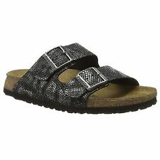 e8be78a8b3802d Papillio by Birkenstock Arizona Royal Python Black Womens Leather Sandals
