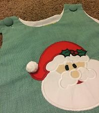 Boutique Little Girl Christmas Castles and Crowns Santa A-Line Dress-Size 5 NWOT