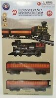 Lionel Pennsylvania Keystone Limited Battery Power Ready-to-play Train Set 6x4Ft