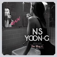 NS Yoon-G - Way 2 (3th Mini Album) [New CD] Asia - Import