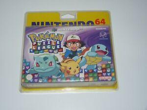jeu video nintendo 64 pokemon puzzle league neuf sous blister rigide FRA