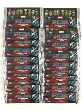 Marvel Missions Trading Card Game Carte Lot 50 Paquet Booster Neuf (The Avengers