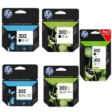 HP 302 302xl Original Patronen HP302 HP302XL F6U68AE F6U67AE F6U66AE F6U65AE Set