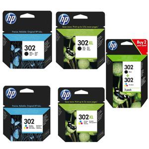 HP 302 302xl Original Drucker Tinten Patronen Multipack HP302 HP302 xl F6U68AE