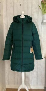 THE NORTH FACE Ladies Metropolis Parka III Coat - Green - Size L