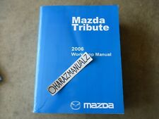 Service Repair Manuals For Mazda Tribute For Sale Ebay