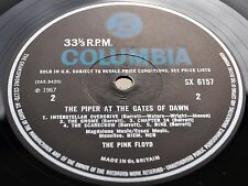 PINK FLOYD PIPER AT THE GATES OF DAWN 1st UK MONO Press LP ARCHIVE Syd Barrett