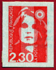 Timbre autocollant n° 1, Marianne du Bicentenaire, à l'unité