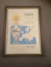 FRAMED CANVAS PRINT - 1967 EUROPEAN CUP FINAL - CELTIC V INTER MILAN