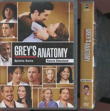 Grey's anatomy STAGIONE 5 COFANETTO 7 DVD