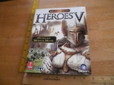 Heroes V of Might and Magic Detailed World Maps book Ubisoft HTF 2006