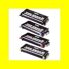4x compatible Cartouche d'encre pour DELL 3130/3130cn black cyan magenta yellow