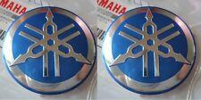 2 x Yamaha Tuning Fork Sticker Decal 55mm YZF FZ FJ YZ FZ1 FZ6 FZS Parts GENUINE
