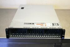 """New Dell R720xd 2.5"""" x 24 bay empty chassis with backplane cables fans 3x risers"""