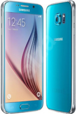 "5.1"" Samsung Galaxy S6 Sprint G920P 32GB 4G 16MP Unlocked Smartphone - Opal blue"