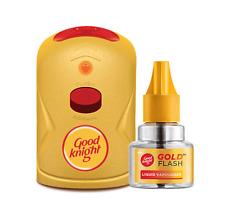 Good Knight gold flash Mosquito Repellent Killing Refill Liquid Kit Machine