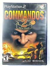 Commandos 2 Men of Courage Sony PlayStation 2 PS2 With Original Case