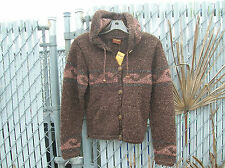 shaman rare wool jacket ecuador surfing surfer girl andes mountains waves hooded