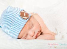 INFANTEENIE BEENIE boys newborn hospital hat newborn boy blue newborn hat, baby