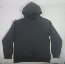 Stussy Two Toned Pull Over Hoodie Jacket With Zipper on Right Side Size XL