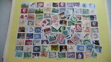 1637  - lot 100 timbres seconds