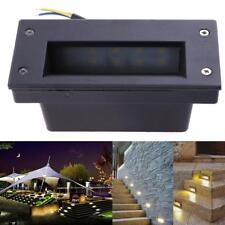 Waterproof 3W LED Recessed Light Path Stair Step Wall Garden Indoor Outdoor Lamp