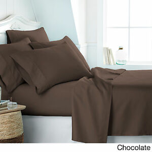 2100 COUNT 6 PIECE BED SHEET SET DEEP POCKET SHEETS SOFTER Than EGYPTIAN COTTON