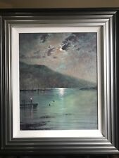 Original oil painting by Andrew Kurtis titled 'Reflections'