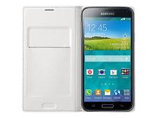Samsung Galaxy S5 Flip Case Cover Wallet White