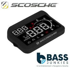 Scosche HUD2 - Car Heads Up Multi-Colour LED Speedometer Display