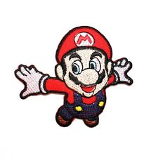 Super Mario Bros Nintendo game Classic Cartoon Clothing Embroidery Iron on Patch