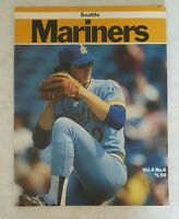 1980 TORONTO BLUE JAYS PROGRAM SCORE BOOK 128 PAGES UNSCORED v SEATTLE MARINERS