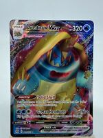Drednaw Vmax #015/073 ERROR CUT! Pokemon Card Champions Path RARE Miss Cut