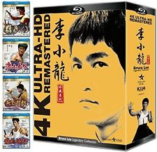 Bruce Lee 4k Uhd Remastered Collection Blu-ray Region A