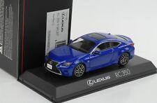 Lexus RC 350 F Sport Heat blue Cl 1:43 Kyosho diecast