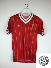 Retro Liverpool home football shirt 82/85 (s) de soccer jersey umbro vintage